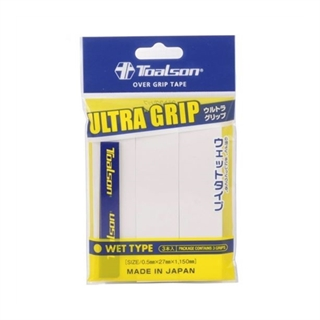 Toalson Ultra Grip 3-pack White