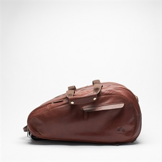 HILDEBRAND Padel Bag Brown Leather