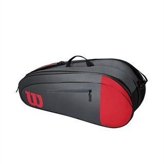 Wilson Team 6PK Red/Grey