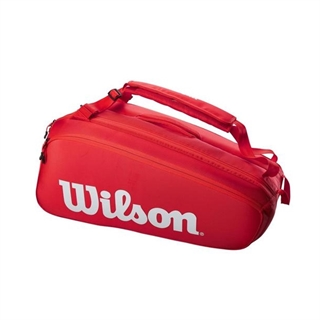 Wilson Super Tour 9PK Red
