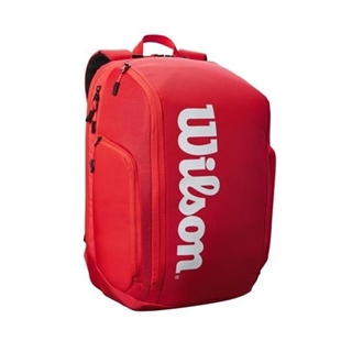 Wilson Super Tour Backpack Red/White