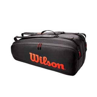 Wilson Tour 6PK Black/Red