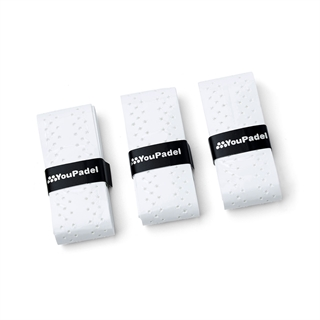 YouPadel Overgrip Air 3-pack White