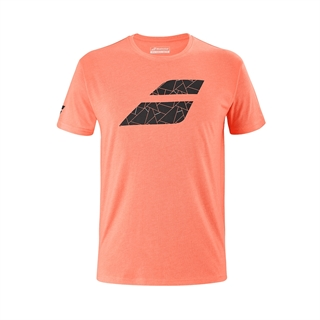 Babolat Exercise Big Flag Tee Coral