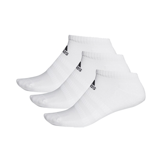 Adidas Cushioned Low-Cut Socks 3-pack White